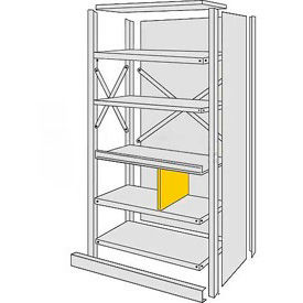 Steel Shelving - Panels & Shelf Dividers