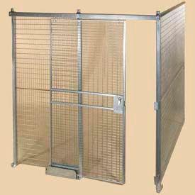 Qwik-Fence® 8-Gauge Welded Grid Mesh Partitions Room - Preconfigured