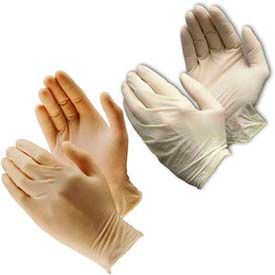 Qualité industrielle, poudré - gants en Latex