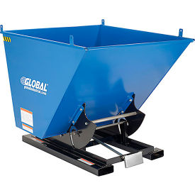Vestil Self-Dumping Steel Forklift Hoppers with Bump Release