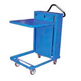 Self-Elevating Post-Style Mobile Spring Lift Work Positioning Tables