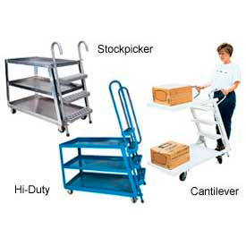 Stock Picker & Step Ladder Carts