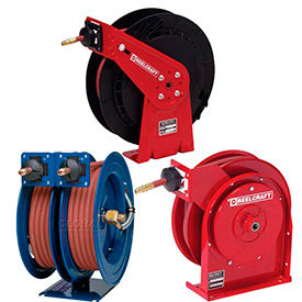 Spring Retractable High Pressure Hose Reels