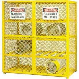 Gas Cylinder Storage Cabinets - Steel