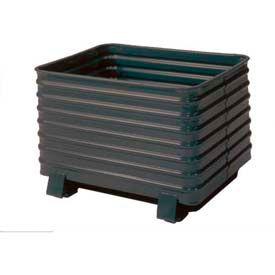King® acier rond coin ondulé conteneurs en acier