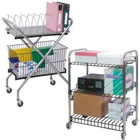 Wire Utility & Basket Carts