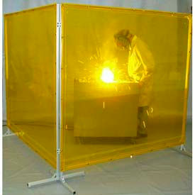 Goff's Free-Standing Welding Screens