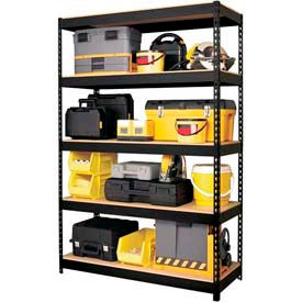 Hirsh Industries® - Riveted Steel Shelving