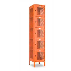 Penco Invincible II, 5 Tier, Ready To Assemble Steel Lockers With Recessed Handle
