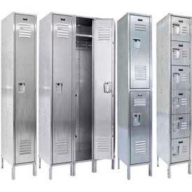 Hallowell 304 Stainless Steel Lockers