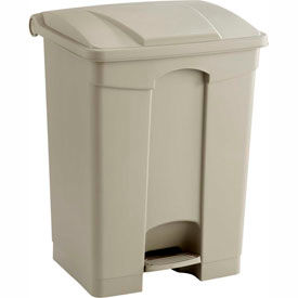 Safco® Plastic Step On Waste Containers