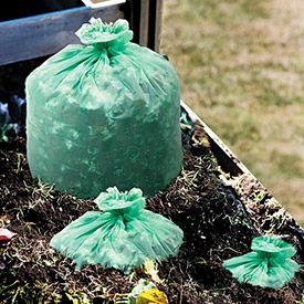 Sacs à ordures biodégradables & Compostable Stout®