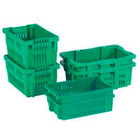 LewisBins™ Ventilated Stack-N-Nest Containers