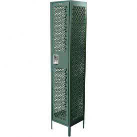 Competitor Ventilated Single Tier Assembled Lockers