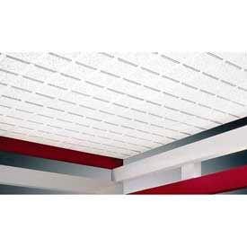 Mineral Ceiling Tiles & Grid Framing