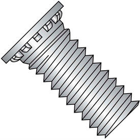 Self Clinching Stud 12 Rib Full Thread 300 Series Stainless Steel