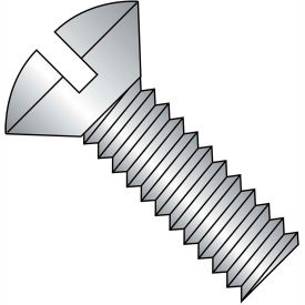 Slotted Oval Machine Screws