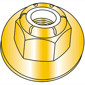 Nylon Insert Flange Hex Lock Nuts