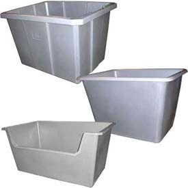 Heavy Duty Poly poubelles conteneurs pour vrac