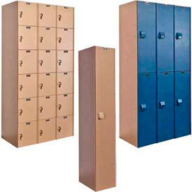 Hallowell AquaMax Solid Plastic Lockers
