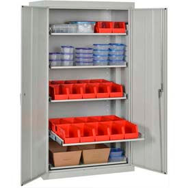 Sandusky Steel Pull-Out Tray Shelf Cabinets
