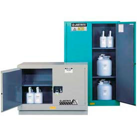 Justrite® ChemCor® Lined Safety Acid Corrosive Cabinets
