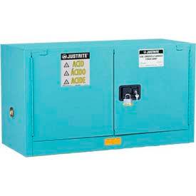 Justrite ChemCor® doublé sécurité greffer armoires acides corrosifs acides