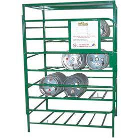 Gas Cylinder Storage Cage - Steel
