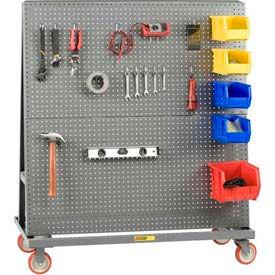 Little Giant® Mobile Pegboard Lean Tool Racks