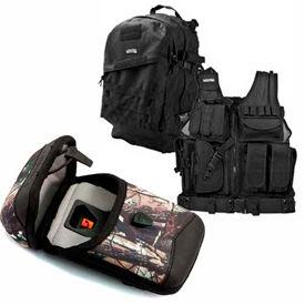 Gear, sacs à dos et gilets tactiques