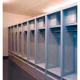 Penco Fully Framed Stadium® Locker with Top Security Box and Footlocker
