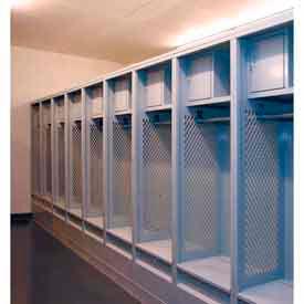 Stade de Penco acier casiers avec étagère supérieure, boîte de sécurité & Foot Locker