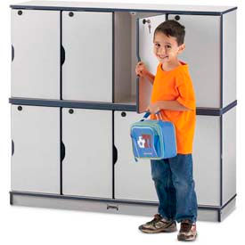 Kids Stacking Lockers With Colored Edge