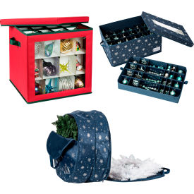 Holiday Decoration Storage Bags
