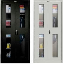 Hallowell ventilé combinaison armoires à portes