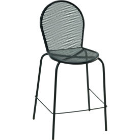 Premier Hospitality Furniture Bistro Outdoor Metal Bar Height Chair Without Arms