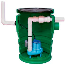 Little Giant 509081 WCR Series Wastewater Collection and Removal System