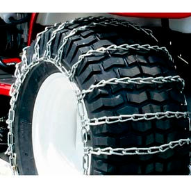Maxtrac Snow Blower/Garden Tractor Tire Chains, 2 Link Spacing (Pair) - 1062756