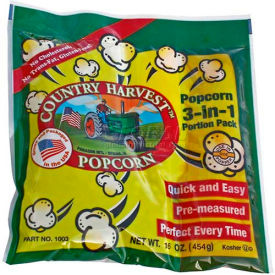 Paragon 1003 Country Harvest Tri-Pack 12oz poppers, 24 sachets-portions