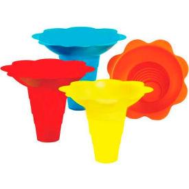 Paragon 6504 Multicolor Flower Drip Tray Cups 12 Oz, 100 Qty