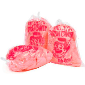 Paragon 7850 Cotton Candy Plastic Bags Printed With Clown, 1000 Qty
