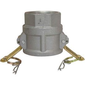 "3/4"" Aluminum Camlock Fitting - Female Coupler x FPT Thread"