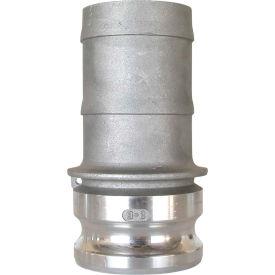"1"" Aluminum Camlock Fitting - Male Barb x Male Coupler Thread"