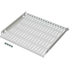 Hoffman A19SH6 Fixed Shelf,Vented, Fits 19 in Rack A, 17.4in
