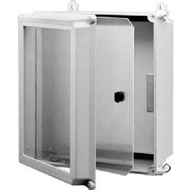 Hoffman A8SPK6C Swing-Out Panel Kit, Fits 8.00x6.00, Aluminum
