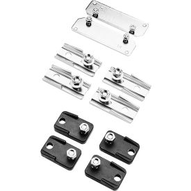 Hoffman DMFK1, Mounting Foot Kit, Fit IS/GSC Boxes, Qty 2, #10-32