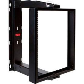 Hoffman E19SWMC12U24 VERSARACK™ Swing Cent Rack, 12RU, 30.00 x7.00 x24.097