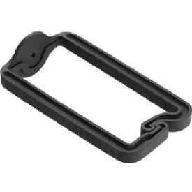Hoffman ECM6DR10 D-Ring Cable Mgr, Qty 10, 3.00x5.33, Plastic
