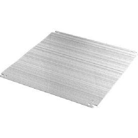 Hoffman EP5040AL Panel, COMLINE, Fits 500x400mm, Aluminum