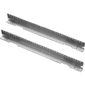 Hoffman ERA196TH Rack Angles,19inThru-Hole(2), Fits 600mm, Steel/zinc